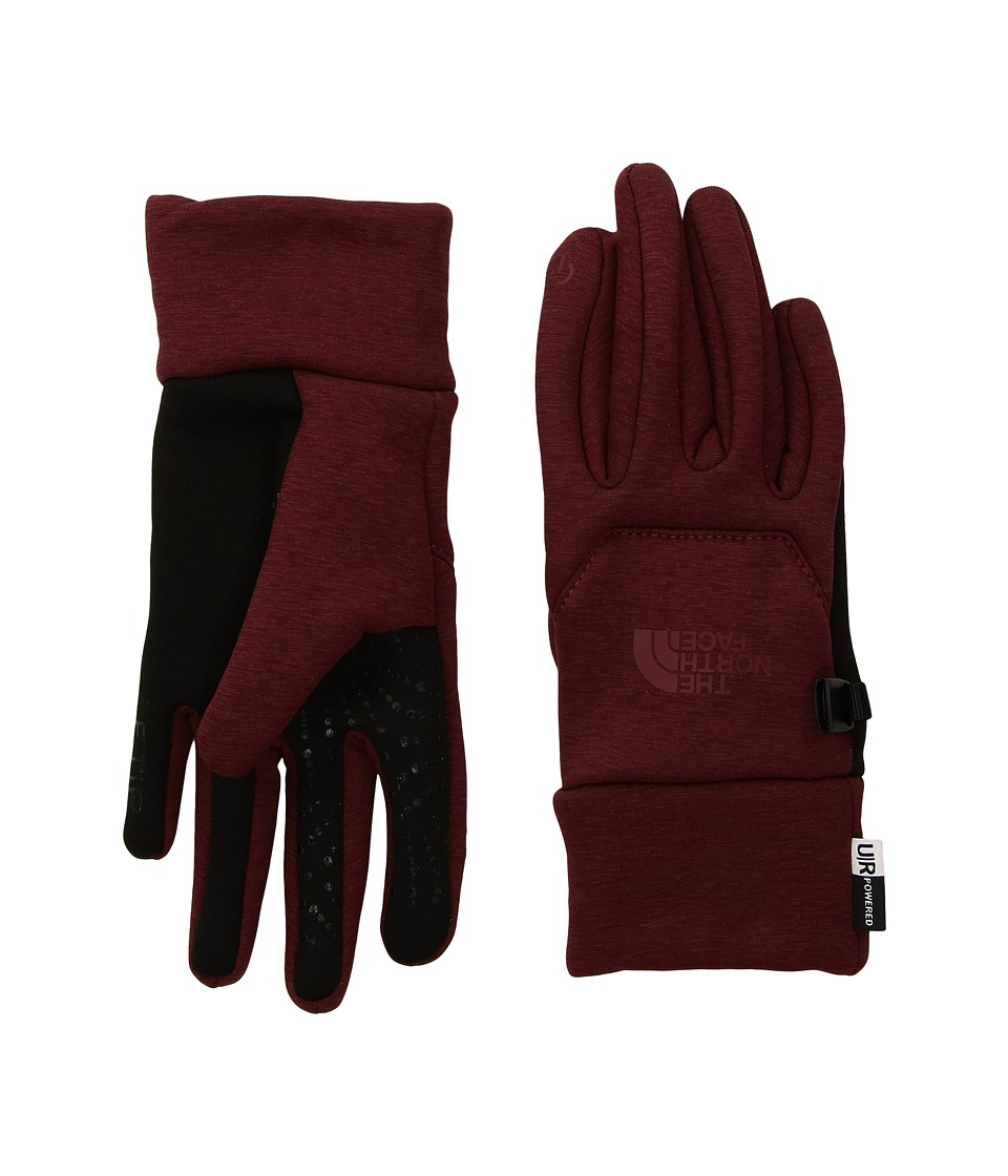 The North Face Etip Hardface Gloves (Barolo Red Heather Print) Extreme Cold Weather Gloves