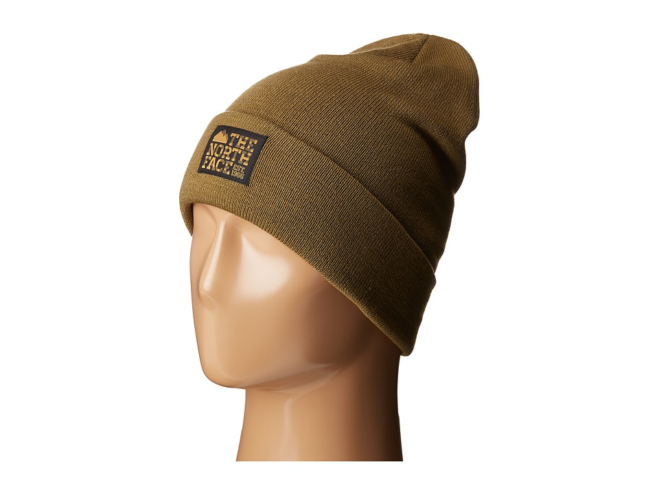 The North Face - Dock Worker Beanie (Military Olive/British Khaki) Beanies