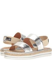 LOVE Moschino - Metallic Sandal Espadrille