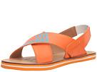 LOVE Moschino Love Foam Sandal (Orange) Women