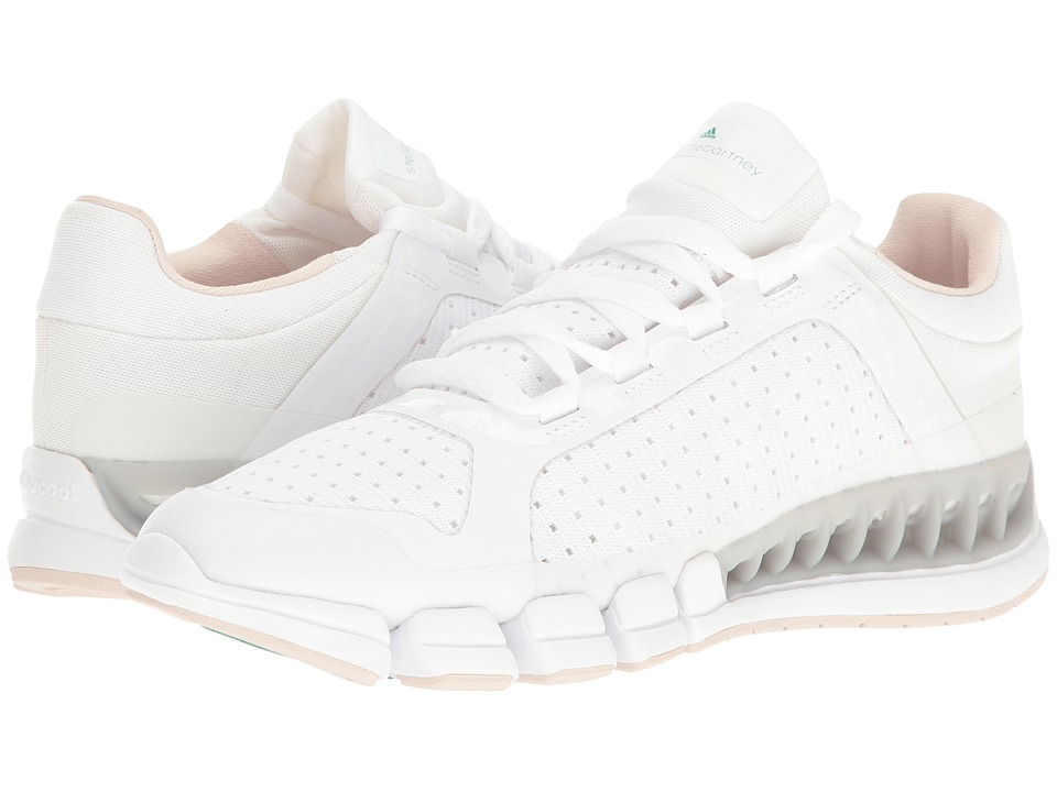 adidas by Stella McCartney - Climacool (White/Black/Echo Pink/Core Green) Womens Running Shoes