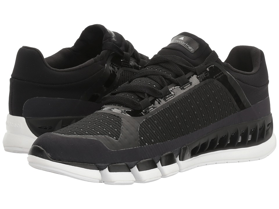 adidas by Stella McCartney Climacool (Black/White/Solid Grey/White/Black) Women