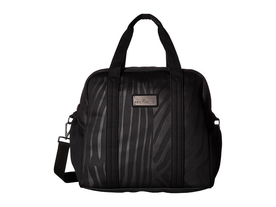 adidas by Stella McCartney Medium Sports Bag (Black/Granite/Gunmetal) Duffel Bags