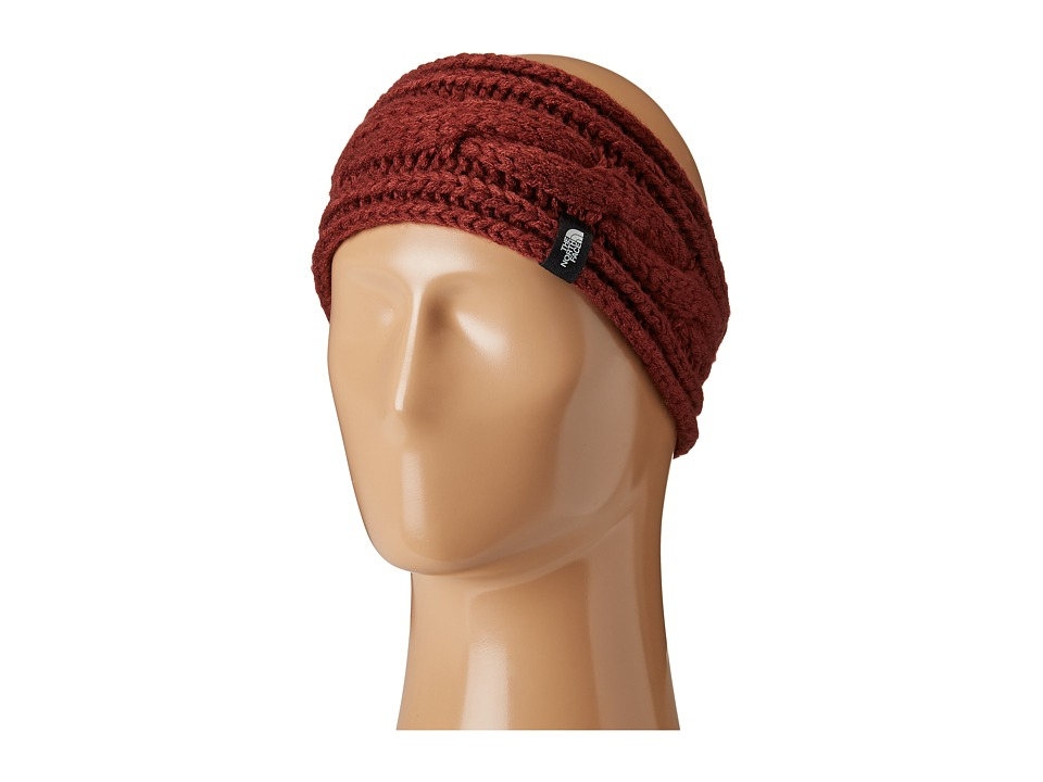 North Face Cable Eargear (Barolo Red) Headband
