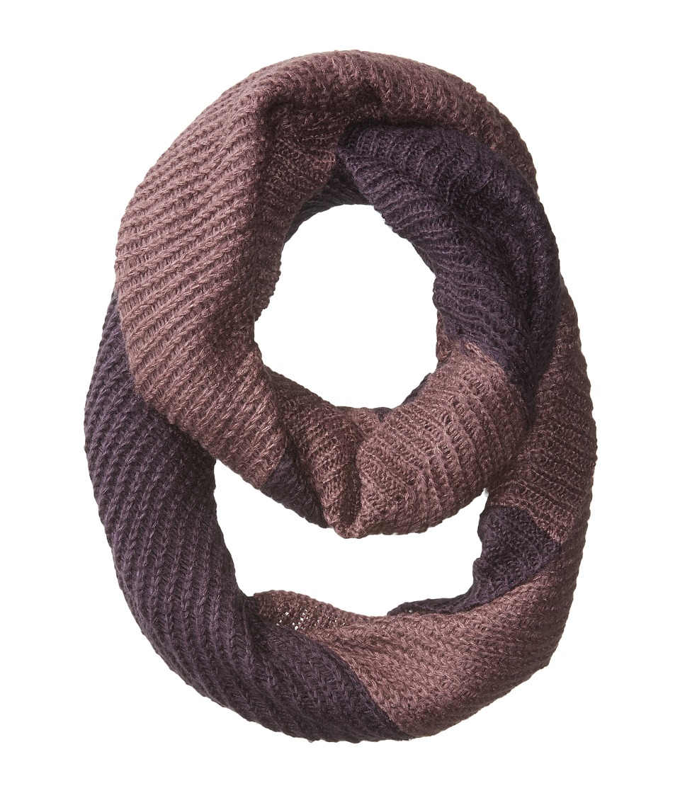 The North Face - Hudson Scarf (Dark Eggplant Purple/Black Plum) Scarves