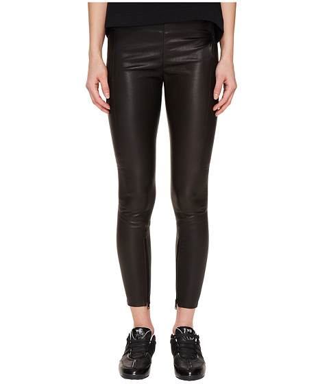 adidas Y-3 by Yohji Yamamoto Leather Leggings