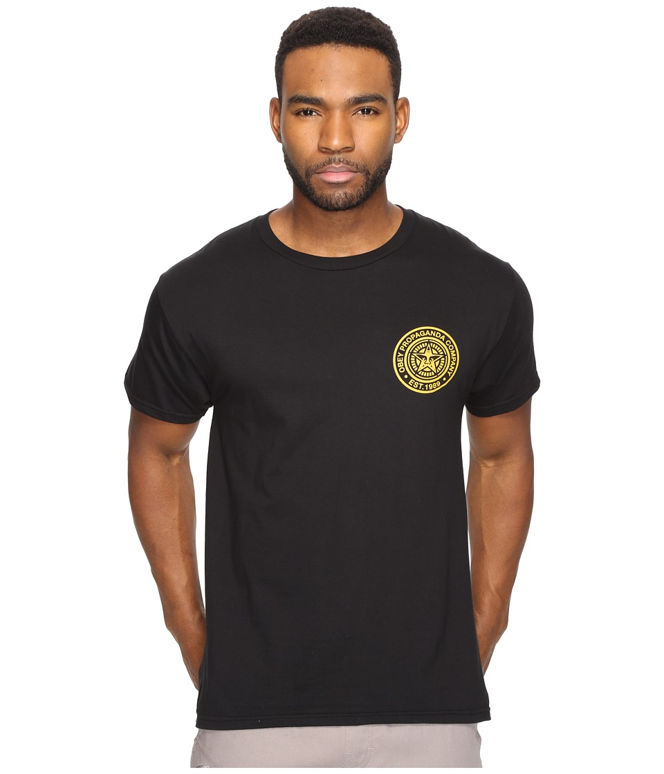 Obey Obey Propaganda Company (Black/Gold) Men