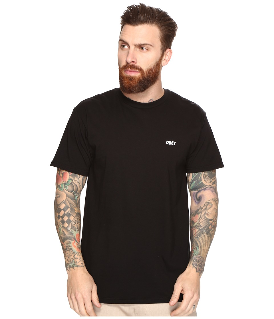 Obey Suckers Inc. Tee (Black) Men