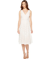 Vince Camuto - Lace Open Back Midi Length Dress