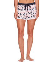 Jane & Bleecker - Novelty Printed Knit Pajama Shorts