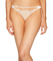 ELSE - Yasmine Silk and Lace Thong