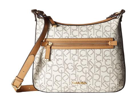 6PM:Calvin Klein Hudson Monogram 女士斜挎包 54.9美元约¥380