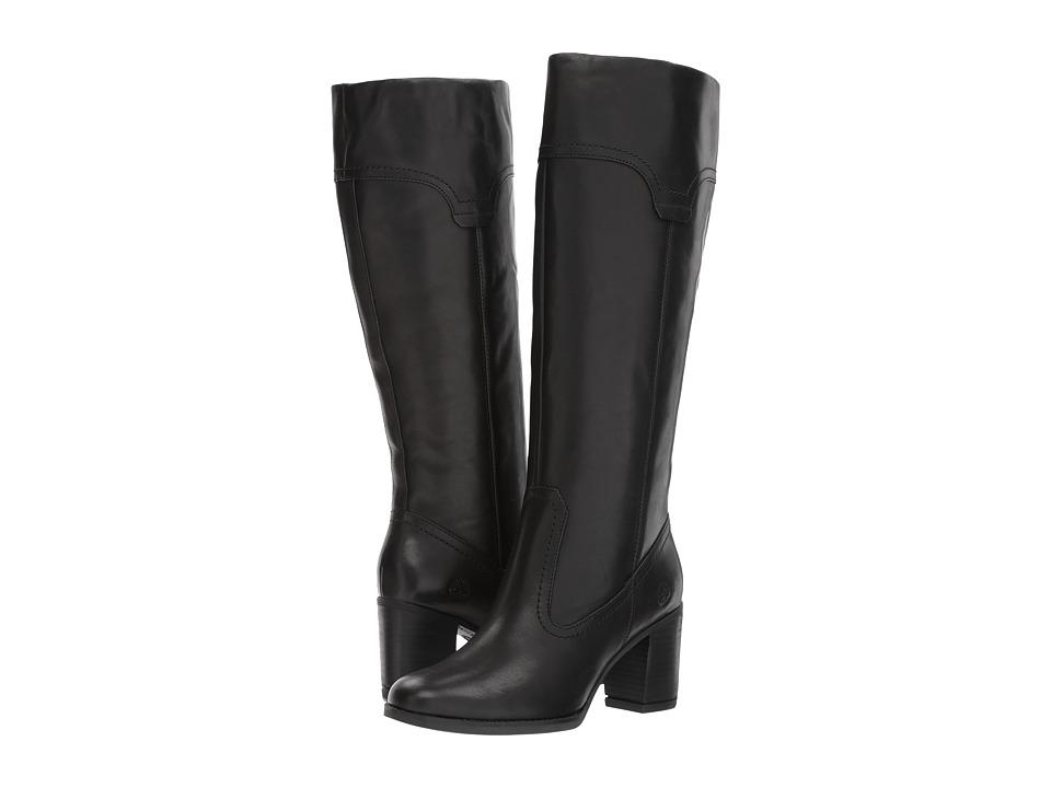 Timberland Atlantic Heights Pull-On Tall Boot (Black) Women