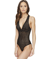 ELSE - Pebble Deep V Racerback Bodysuit