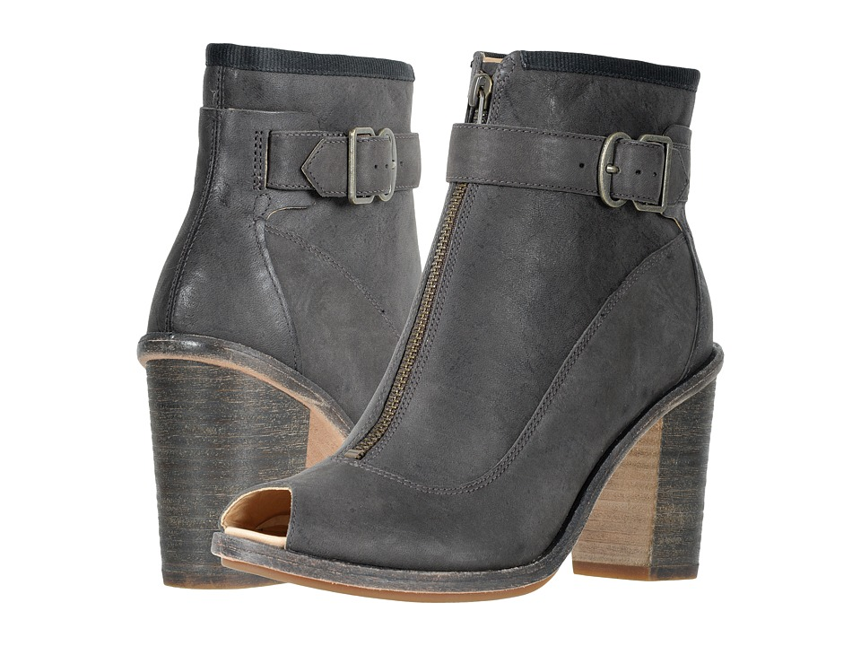 Timberland Timberland Boot Company Marge Buckle Peep Toe (Dark Russet Vintage) Women