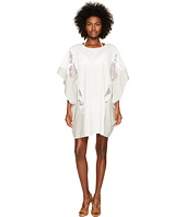 Jonathan Simkhai - Trimmed Lace Poncho Cover-Up