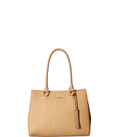 6PM:Calvin Klein Key Items Saffiano 女士手提包 特价仅售$99.99