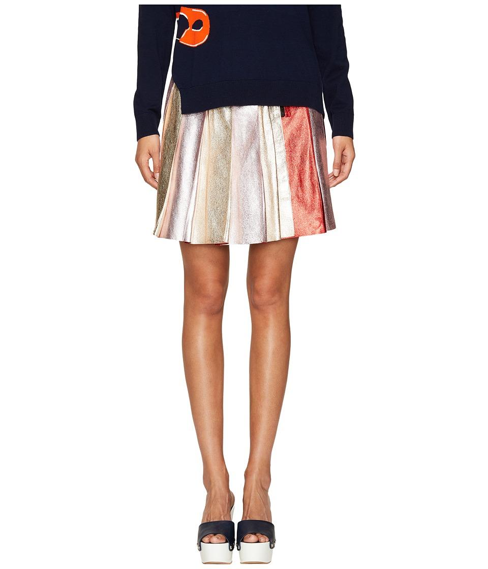 Sonia by Sonia Rykiel - Lamb Leather Skirt
