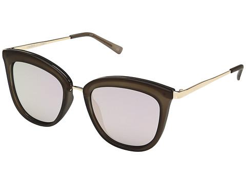 Le Specs Caliente - Matte Mocha/Gold/Peach Revo Mirror