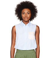 Sonia by Sonia Rykiel - Striped Poplin Blouse