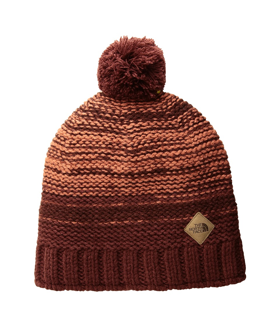 The North Face - Antlers Beanie (Sequoia Red/Barolo Red/Etruscan Red) Beanies