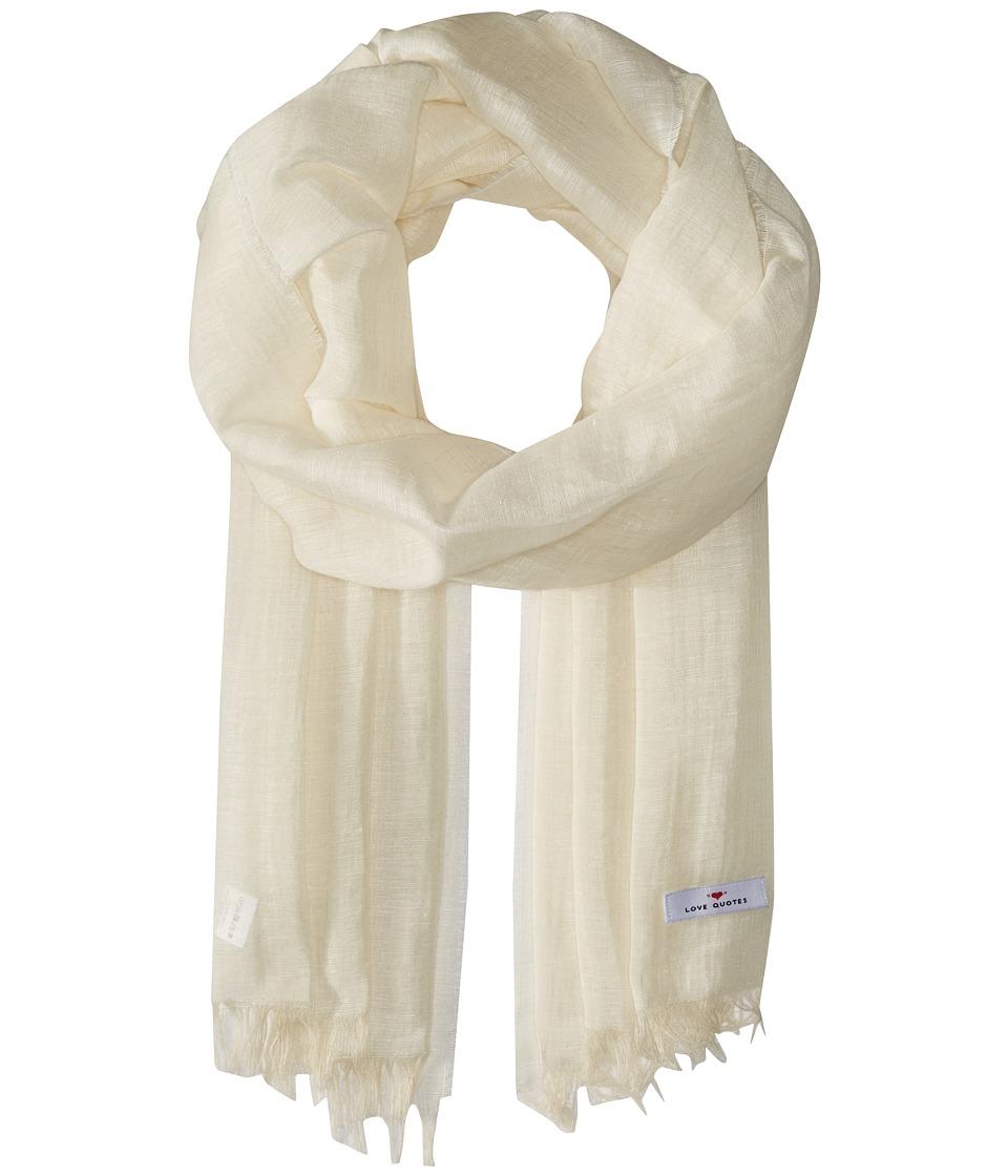 Love Quotes - Linen Cotton Solid
