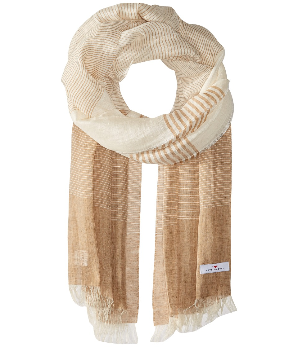 Love Quotes - Linen Cotton Variable Stripe
