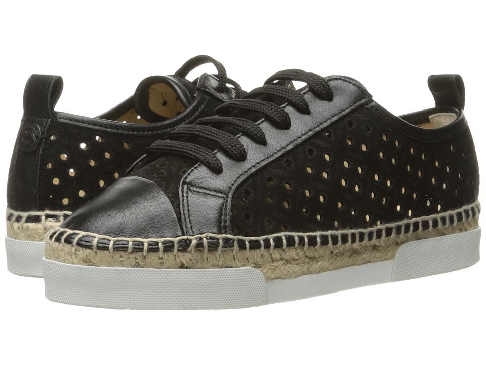 Sonia by Sonia Rykiel Perforated Velvet Sneaker (Black) Women