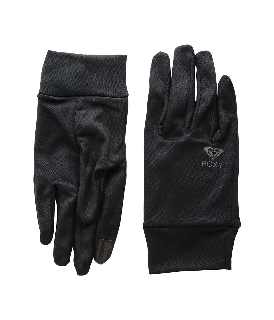 Roxy Enjoy Care Liner Gloves (True Black) Extreme Cold Weather Gloves