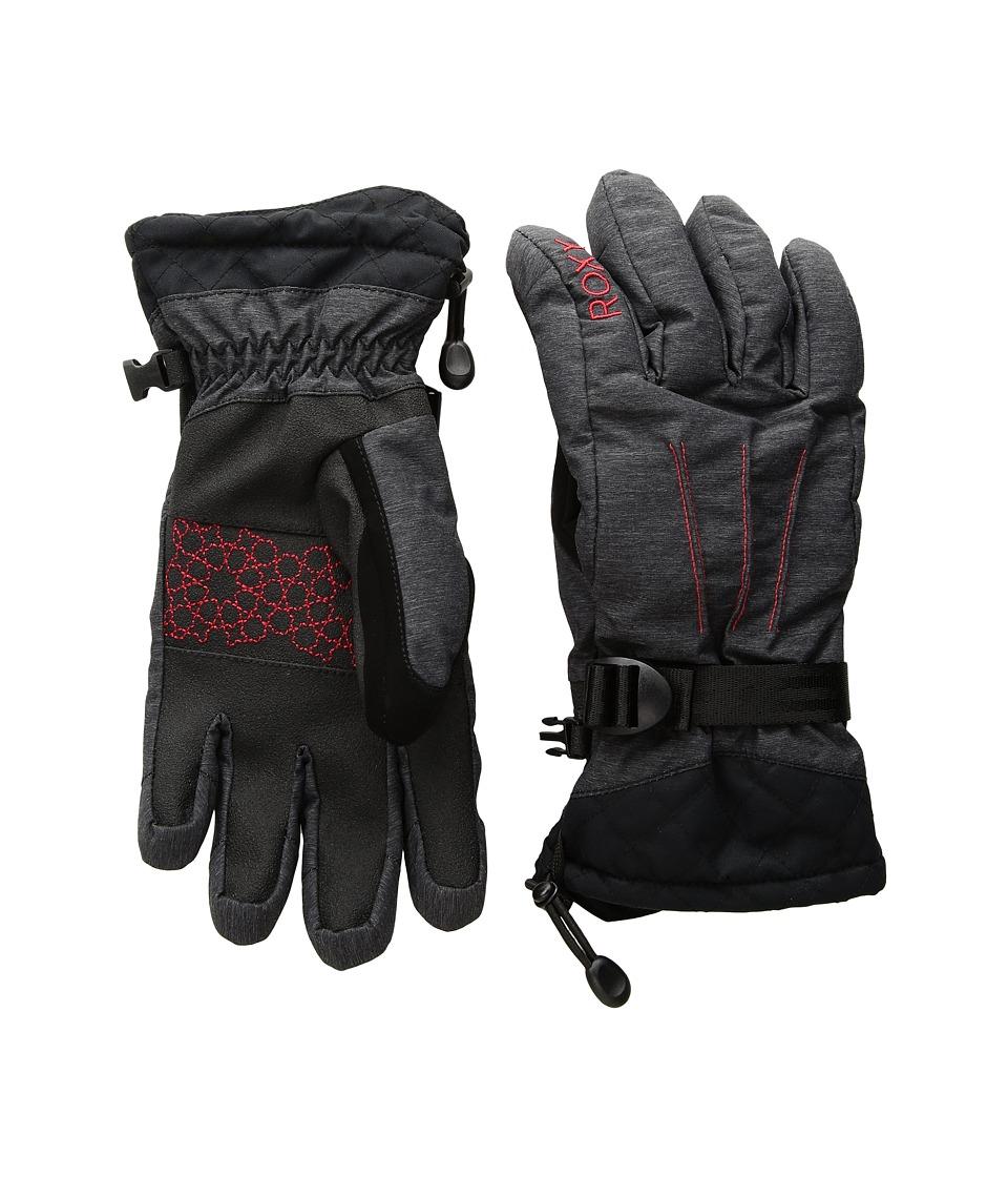 Roxy Big Bear Gloves (True Black) Extreme Cold Weather Gloves