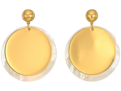 Elizabeth and James Goldie Earrings - Yellow Gold
