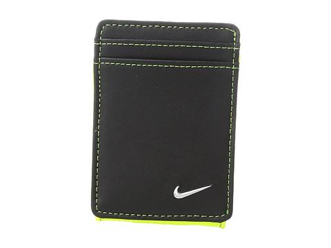 Nike Blocked Front Pocket Wallet - Black/Volt