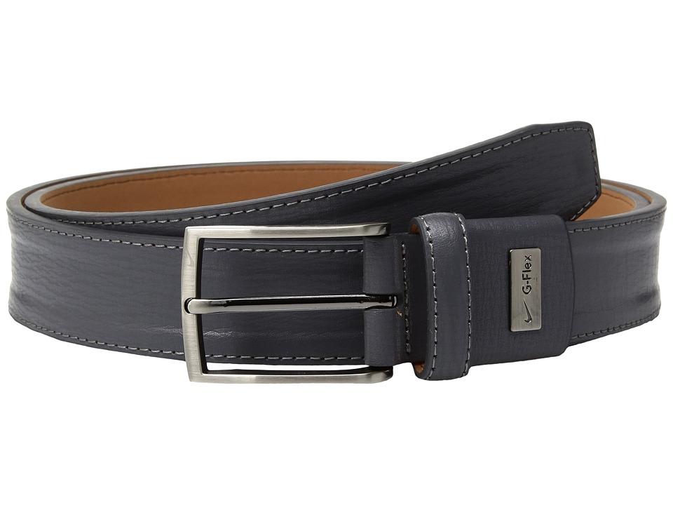 Nike Trapunto G-Flex (Grey) Men's Belts