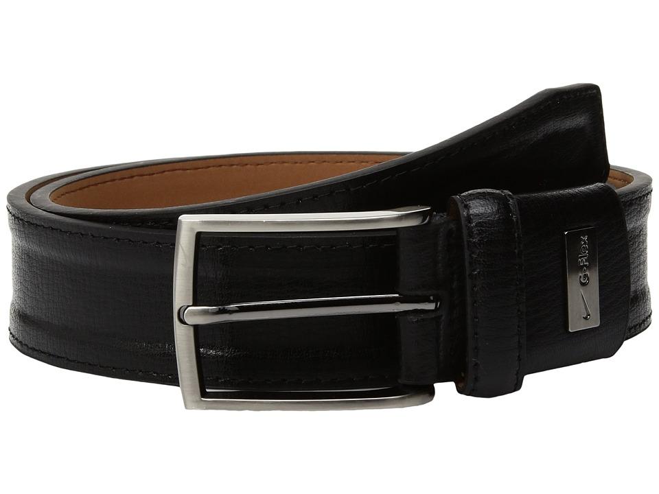 Nike Trapunto G-Flex (Black) Men's Belts