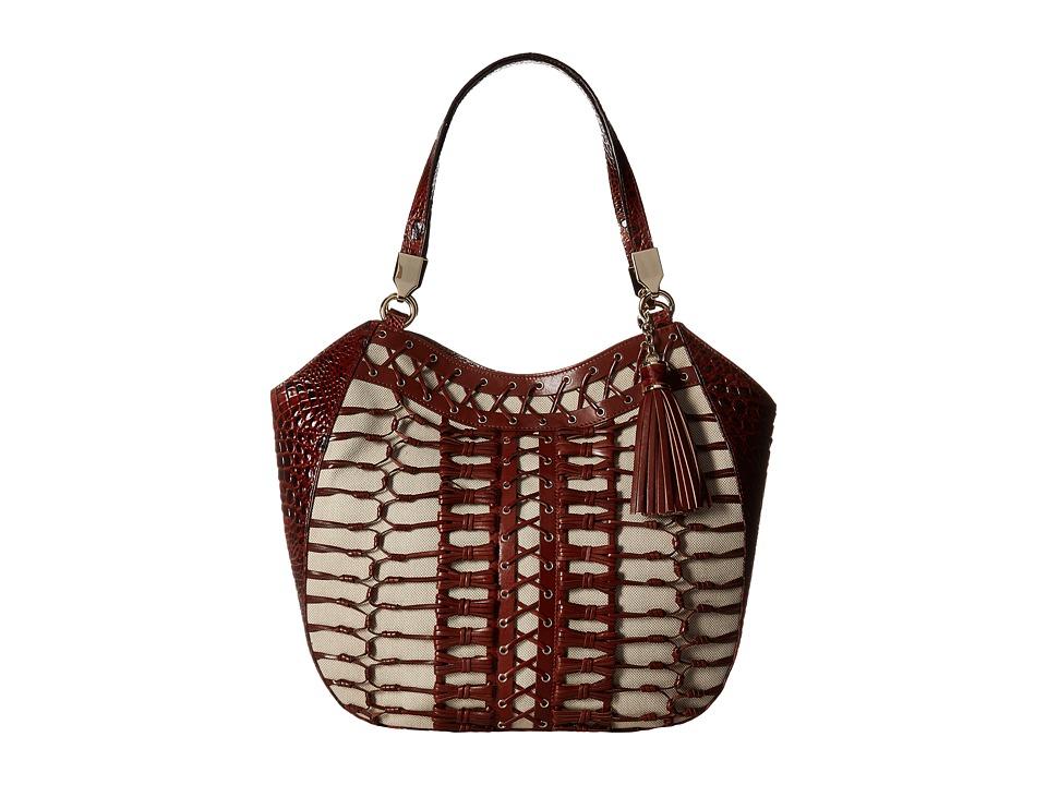 Brahmin Marianna (Pecan) Handbags