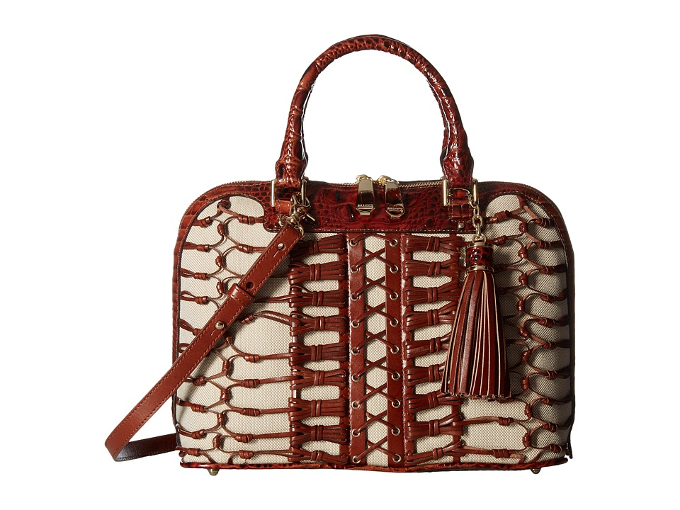 Brahmin Vivian (Pecan) Handbags