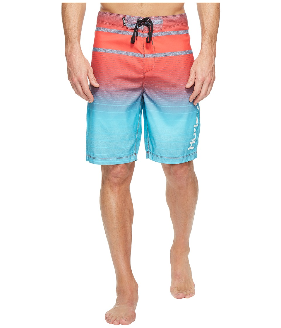 Hurley Adams 21 Boardshorts (Chlorine Blue) Men