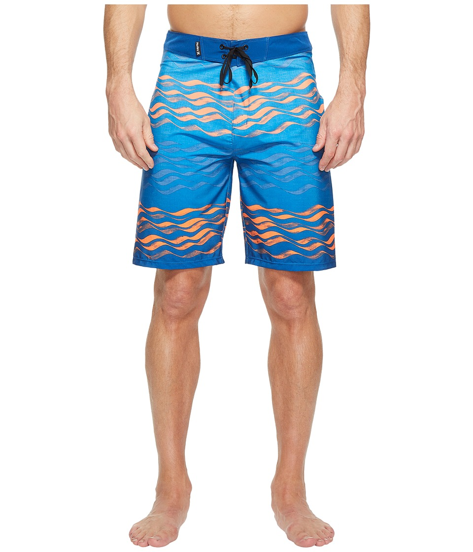 Hurley Phantom Currents 20 Boardshorts (Gym Blue) Men