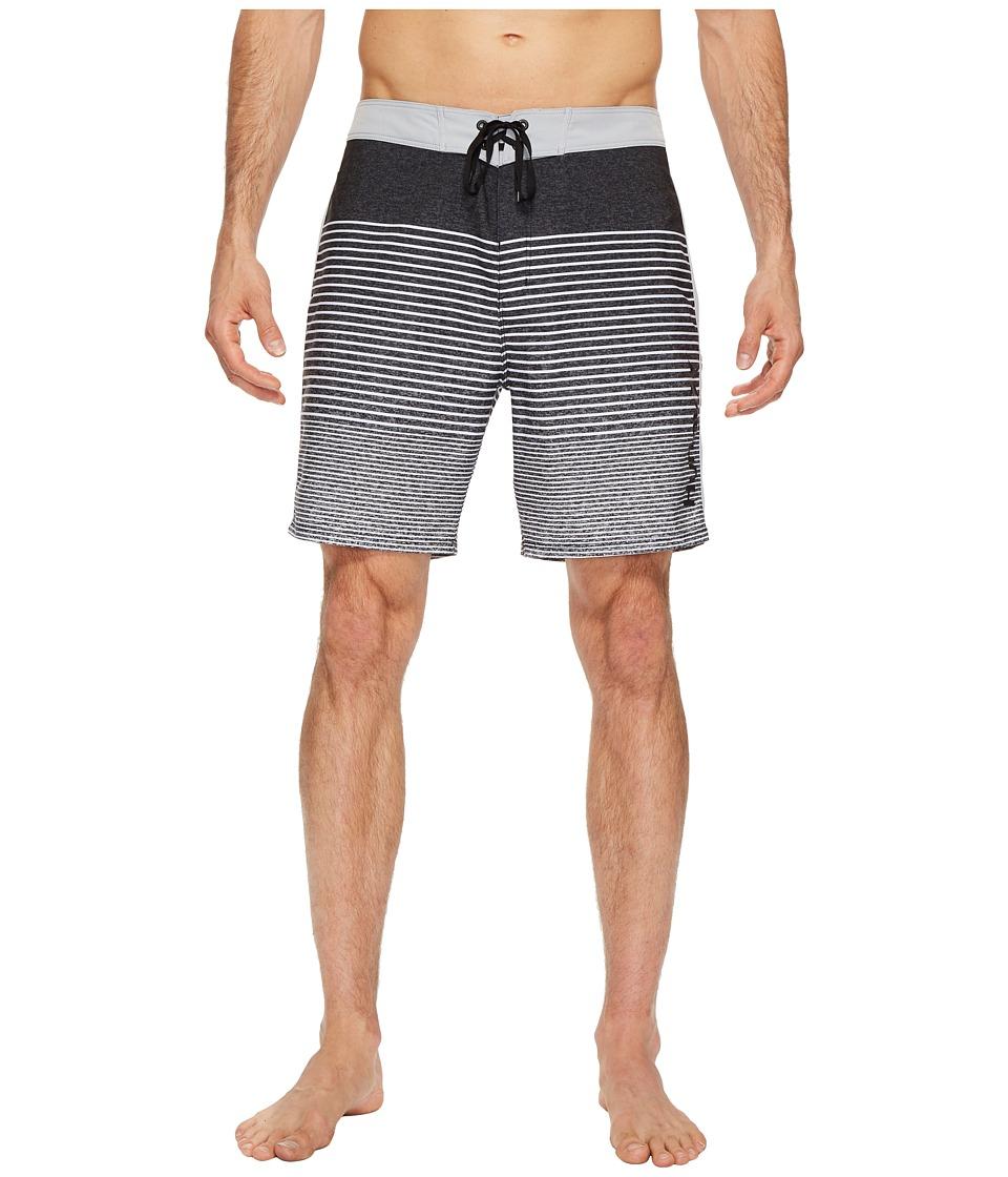 Hurley Phantom Beachside Blender 18 Boardshorts (Black) Men