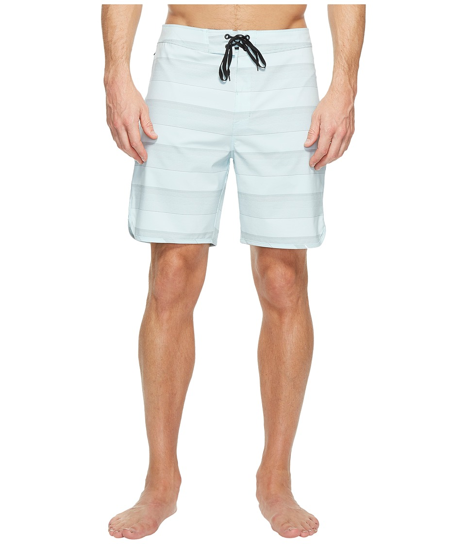 Hurley Phantom Strike 19 Boardshorts (Glacier Blue) Men
