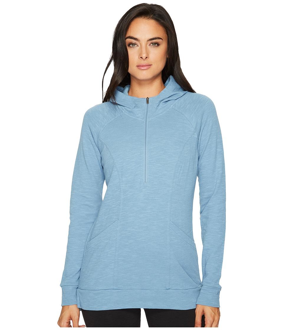 Lucy OM 1/2 Zip Pullover (Blue Dusk) Women