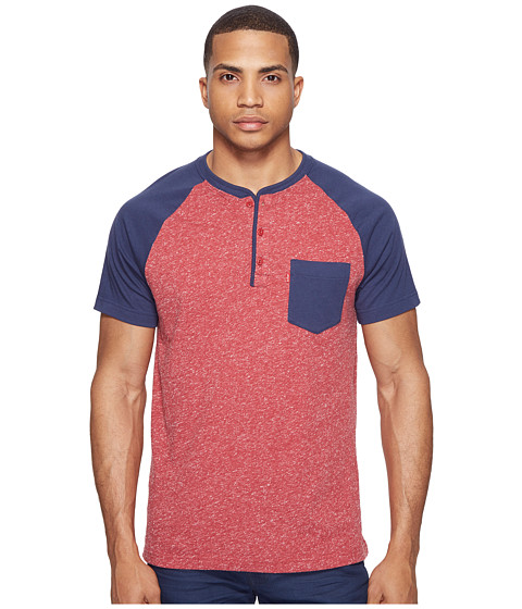 Levi's® Landon Snow Jersey Short Sleeve Henley