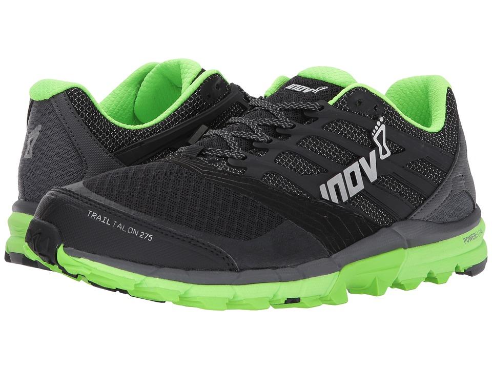 inov-8 - TrailTalon 275 (Black/Green) Mens Running Shoes