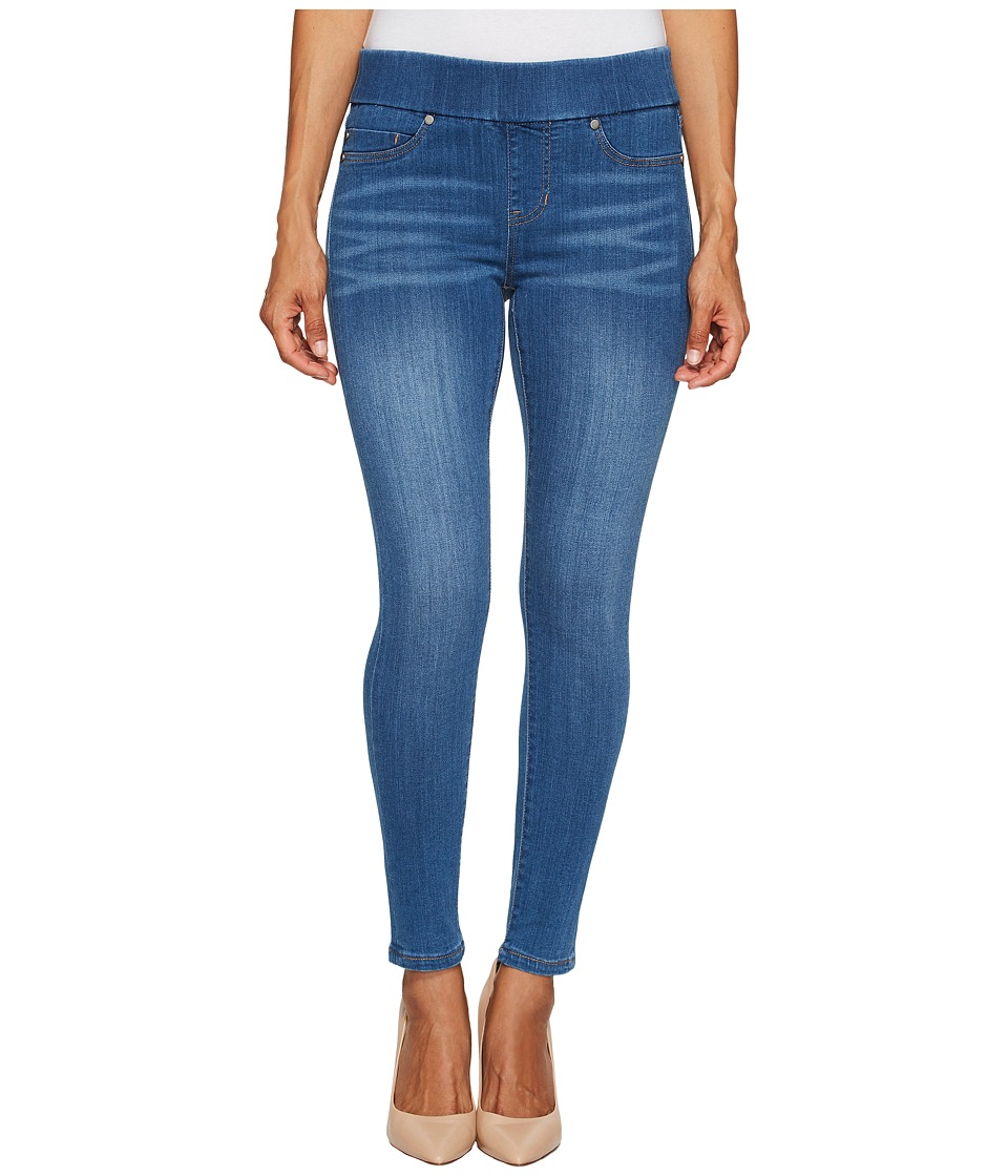 Liverpool - Petite Sienna Pull-On Ankle in Silky Soft Denim Coronado Mid (Coronado Mid) Womens Jeans