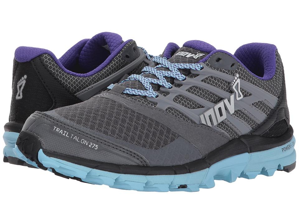 inov-8 - TrailTalon 275 (Grey/Blue/Purple) Womens Running Shoes