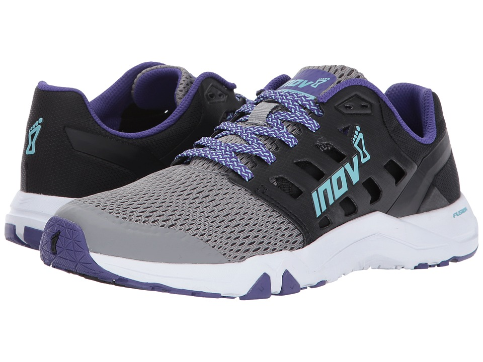 inov-8 All Train 215 (Grey/Black/Purple) Women's Shoes