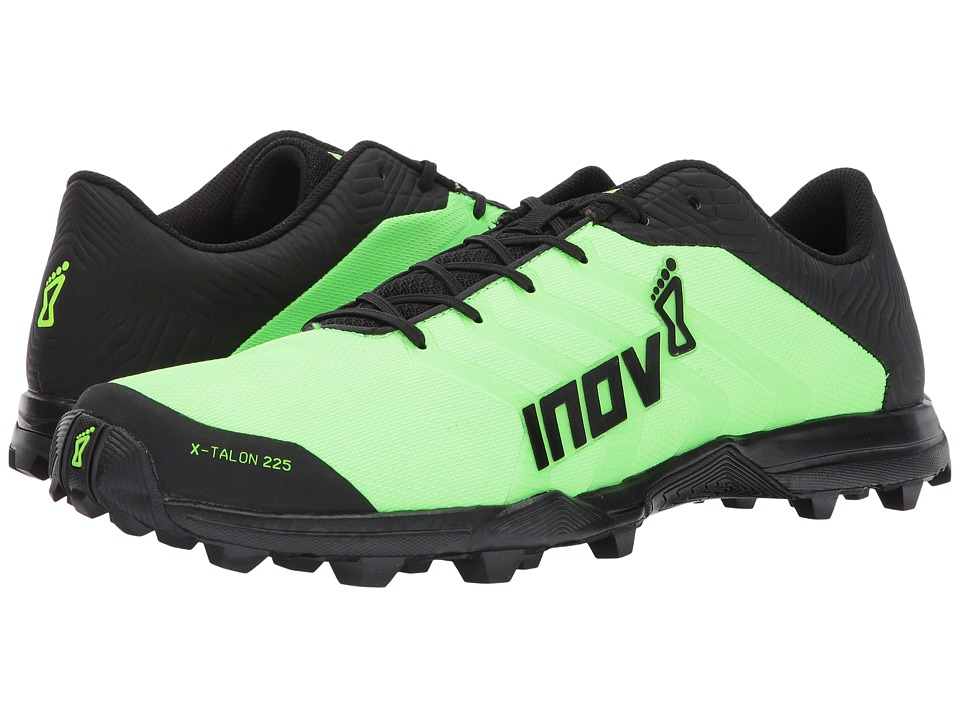 inov-8 - X-Talon 225 (Green/Black) Running Shoes