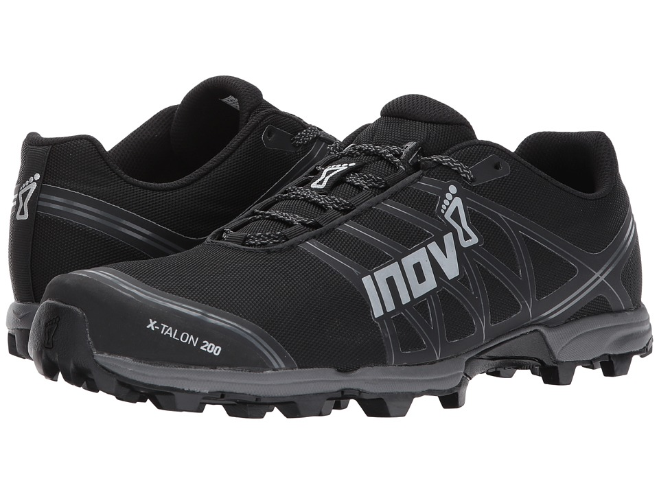 inov-8 - X-Talon 200 (Black/Grey) Running Shoes