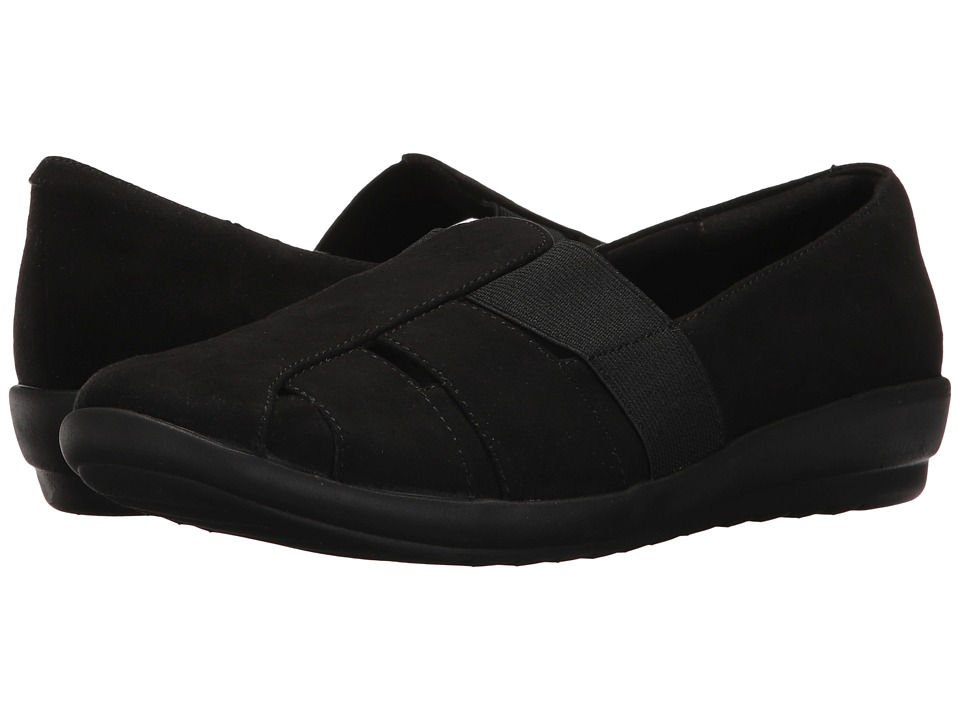 Easy Spirit - Alani (Black 2/Black Fabric) Womens Shoes