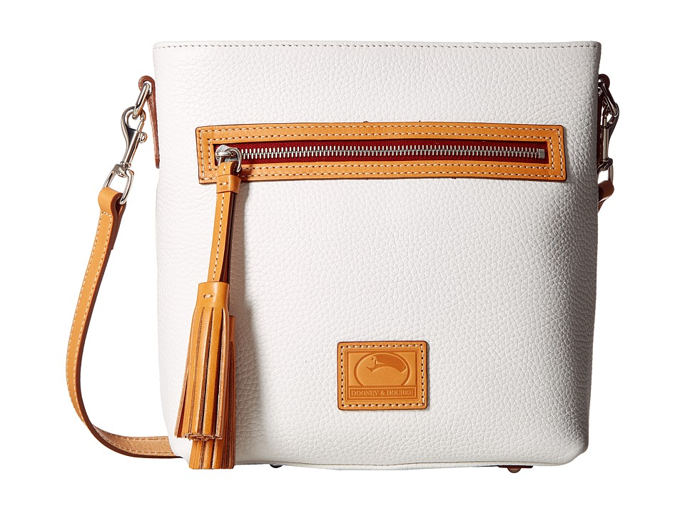 Dooney & Bourke - Patterson Lani Crossbody (White w/ Butt...
